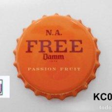 Coleccionismo de cervezas: TAPON BEER CORONA BOTTLE CAP KRONKORKEN TAPPI CAPSULE DAMM PASSION FRUIT EXPORTACION. Lote 98082363