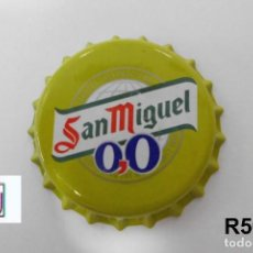 Coleccionismo de cervezas: TAPON BEER CORONA BOTTLE CAP KRONKORKEN TAPPI CAPSULE SAN MIGUEL 0,0 LIMON. Lote 98083079
