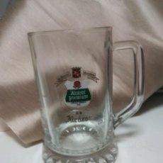 Coleccionismo de cervezas: MAGNIFICA JARRA VINTAGE CERVEZA EL ALCAZAR PREMIUN. Lote 89761256