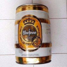 Coleccionismo de cervezas: BARRIL DE CERVEZA 5 LITROS ( ESTA LLENO ) 5LT WARSTEINER PREMIUM VERUM APROX 1986 12º VOL . Lote 90039860