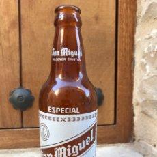 Coleccionismo de cervezas: BOTELLA CERVEZA SAN MIGUEL. Lote 90822825