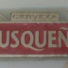 Coleccionismo de cervezas: LLAVERO Y DESTAPADOR DE CERVEZA CUSQUEÑA. DE PERÚ DE HIERRO COLADO. Lote 91581197