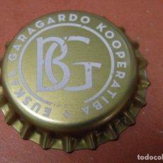 Coleccionismo de cervezas: CHAPA CERVEZA ARTESANA BOGA. MUNGUIA. VIZCAYA.------- LOTE N. 2581-----CARMANJO. Lote 93943685