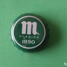 Coleccionismo de cervezas: CHAPA CERVEZA MAHOU 1890 VERDE. Lote 94049610