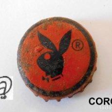 Collezionismo di birre: TAPON CORONA BOTTLE CAP KRONKORKEN TAPPI CAPSULE REFRESCOS PLAYBOY . Lote 94662559