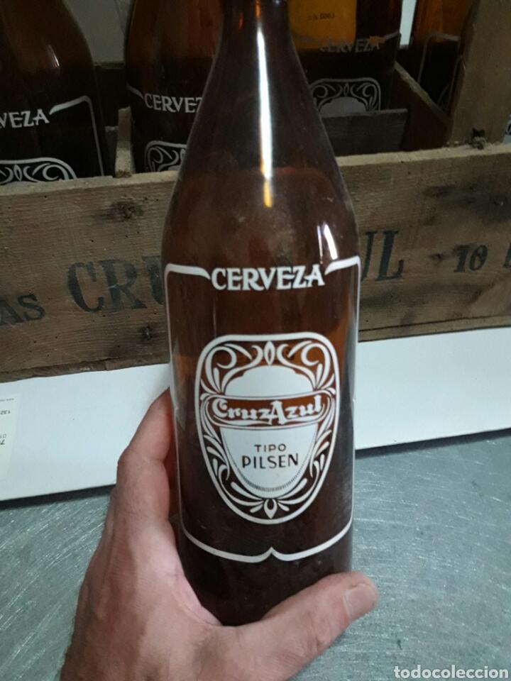 Coleccionismo de cervezas: Caja cerveza Cruz Azul vacia - Foto 3 - 94937900