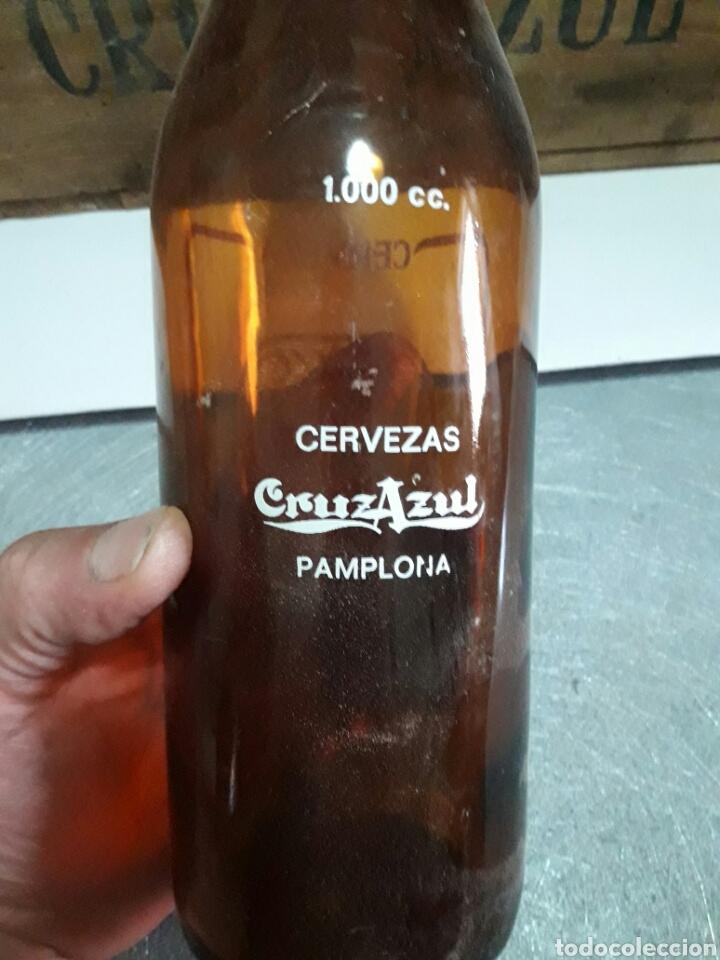 Coleccionismo de cervezas: Caja cerveza Cruz Azul vacia - Foto 4 - 94937900