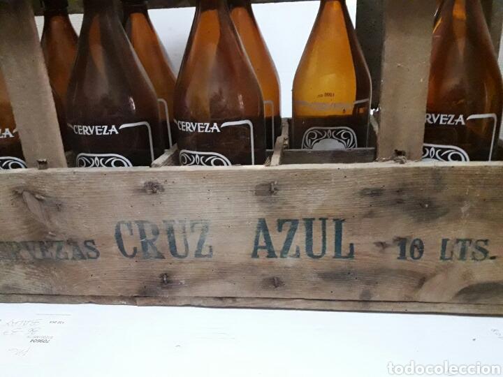 Coleccionismo de cervezas: Caja cerveza Cruz Azul vacia - Foto 5 - 94937900