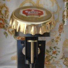 Coleccionismo de cervezas: CERVEZA DAMM ABRIDOR DE MOSTRADOR NUEVO A ESTRENAR. Lote 95011247