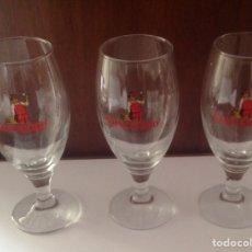 Coleccionismo de cervezas: ANTIGUAS COPAS CERVEZA CRUZCAMPO. Lote 95188227