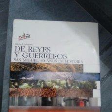 Coleccionismo de cervezas: GRAN LIBRO DE LA HISTORIA DE LA CERVEZA REYES Y GUERREROS CERVEZAS SAN MIGUEL. Lote 95553219