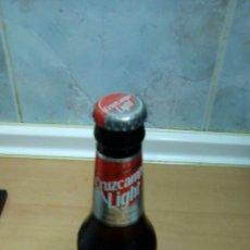 Coleccionismo de cervezas: BOTELLA DE CRUZCAMPO LIGHT SIN ABRIR. Lote 95789854