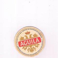 Coleccionismo de cervezas: POSAVASOS ANTIGUO CERVEZA AGUILA. Lote 96818011