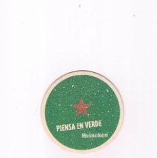 Coleccionismo de cervezas: POSAVASOS ANTIGUO CERVEZA BEER HEINEKEN. Lote 96820135