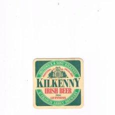 Coleccionismo de cervezas: POSAVASOS ANTIGUO CERVEZA BEER KILKENNY IRISH BEER FROM GUINNESS. Lote 96826623