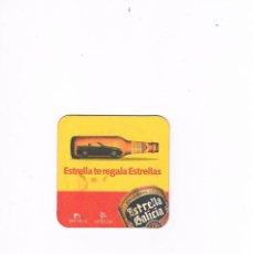 Coleccionismo de cervezas: POSAVASOS ANTIGUO CERVEZA BEER ESTRELLA GALICIA. Lote 96827959