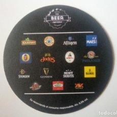 Coleccionismo de cervezas: POSAVASOS CERVEZA THE BEER EXPERIENCE. Lote 96859343