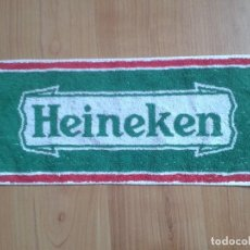 Coleccionismo de cervezas: TOALLA PEQUEÑA ( 47 X 21,5 CM ) -- CERVEZA HEINEKEN -- AÑOS 90 -- TOALLITA. Lote 97242027