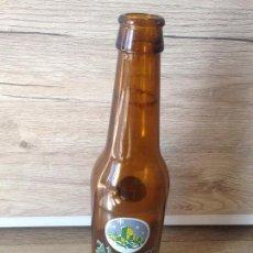 Coleccionismo de cervezas: BOTELLA CERVEZA ALCAZAR NAVIDAD SERIGRAFIADA. Lote 98495447