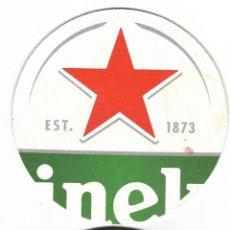 Coleccionismo de cervezas: DOS POSAVASOS - HEINEKEN Y 1906 RED VINTAGE LA COLORADA. Lote 97553343