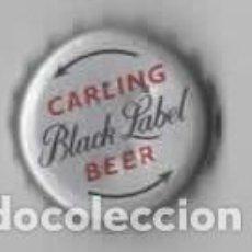 Coleccionismo de cervezas: CHAPA CERVEZA CARLING BEER ( BLACK LABEL ). Lote 98106735