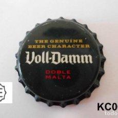 Coleccionismo de cervezas: TAPON CORONA BEER BOTTLE CAP KRONKORKEN TAPPI CAPSULE VOLL-DAMM. Lote 98201839