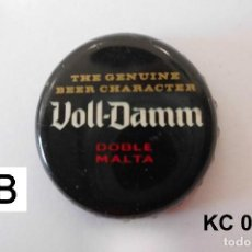 Coleccionismo de cervezas: TAPON CORONA BEER BOTTLE CAP KRONKORKEN TAPPI CAPSULE VOLL-DAMM. Lote 98202659