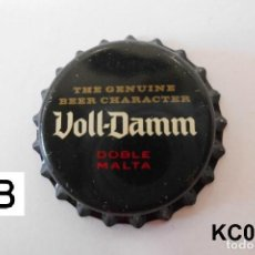 Coleccionismo de cervezas: TAPON CORONA BEER BOTTLE CAP KRONKORKEN TAPPI CAPSULE VOLL-DAMM. Lote 98203095