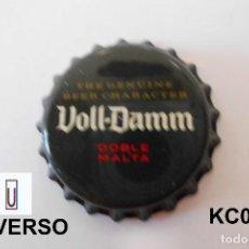 Coleccionismo de cervezas: TAPON CORONA BEER BOTTLE CAP KRONKORKEN TAPPI CAPSULE VOLL-DAMM. Lote 98203823
