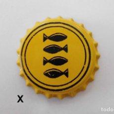 Coleccionismo de cervezas: TAPON CORONA BEER BOTTLE CAP KRONKORKEN TAPPI CAPSULE AUGAS SANTAS. Lote 98205051