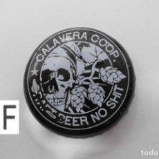 Coleccionismo de cervezas: TAPON CORONA BEER BOTTLE CAP KRONKORKEN TAPPI CAPSULE CALAVERA. Lote 98205431