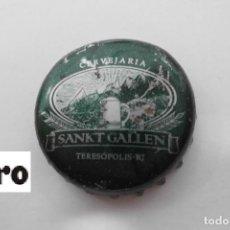 Coleccionismo de cervezas: TAPON CORONA BEER BOTTLE CAP KRONKORKEN TAPPI CAPSULE SANKT GALLEN - BRAZIL. Lote 98206223