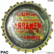 Coleccionismo de cervezas: TAPON CORONA - CHAPA ESPAÑOLA DE REFRESCO - ILLARRAMENDI - 001 (CORCHO). Lote 98538311