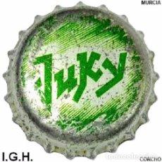 Coleccionismo de cervezas: TAPON CORONA - CHAPA ESPAÑOLA DE REFRESCO - JUKY - 001 (CORCHO). Lote 98538411