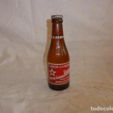 Coleccionismo de cervezas: * ANTIGUA BOTELLA D CERVEZA SOCIEDAD ANONIMA DAMM ESTRELLA, COMPLETA, LLENA Y CON TAPON ORIGINAL. ZX. Lote 98545167