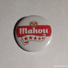 Coleccionismo de cervezas: MAHOU - CHAPA 31MM (CON IMPERDIBLE). Lote 234785190