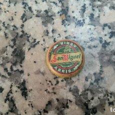 Coleccionismo de cervezas: CHAPA CERVEZA SAN MIGUEL. ABRIR. Lote 100621511