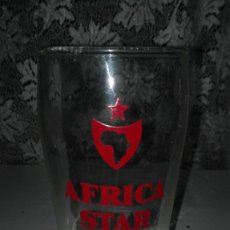 Coleccionismo de cervezas: VASO CERVEZA ÁFRICA STAR.. Lote 101023651