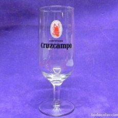 Coleccionismo de cervezas: COPA DE CERVEZA CRUZCAMPO AÑOS 70-80 CERVEZAS LA CRUZ DEL CAMPO. Lote 101236655