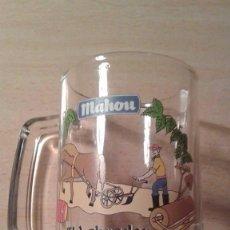 Coleccionismo de cervezas: CERVEZA MAHOU - JARRA - EL LABRADOR. Lote 101397943