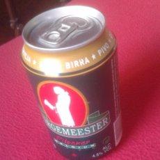 Coleccionismo de cervezas: LATA DE CERVEZA BIER BEER CERVEJA BURGEMMESTER PILSENER BELGIUM BELGIQUE BELGIE VACÍA CADUCIDAD 2004. Lote 101908003