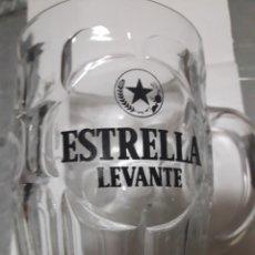 Coleccionismo de cervezas: ANTIGUA JARRA CERVEZA ESTRELLA LEVANTE. Lote 101939000