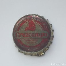 Coleccionismo de cervezas: ANTIGUA CHAPA CORONA CERVEZA CRUZCAMPO. DICIEMBRE 1986.. Lote 102685971