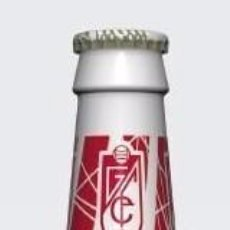 Coleccionismo de cervezas: CERVEZAS ALHAMBRA. 1ª ED. LIMITADA. SERIGRAFÍA SOBRE CRISTAL. GRANADA CLUB DE FÚTBOL 2009-10.. Lote 103298563