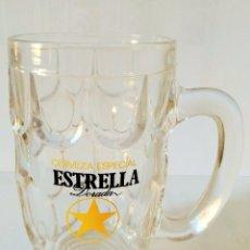 Coleccionismo de cervezas: JARRA CERVEZA ESTRELLA DORADA CERVEZAS DAMM 12 CENTÍMETROS RARO. Lote 103860751
