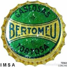 Coleccionismo de cervezas: TAPON CORONA - CHAPA ESPAÑOLA DE GASEOSA - BERTOMEU - 1201 (TENIA CORCHO). Lote 104302787