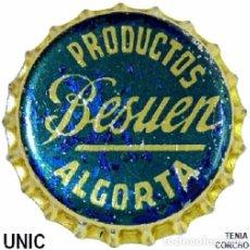 Coleccionismo de cervezas: TAPON CORONA - CHAPA ESPAÑOLA DE GASEOSA - BESUEN - 1201 (TENIA CORCHO). Lote 104302963