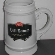 Coleccionismo de cervezas: JARRA DE CERAMICA DE CERVEZA VOLL-DAMM . Lote 104308047
