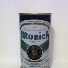 Coleccionismo de cervezas: LATA CERVEZA MUNICH PARAGUAY. Lote 104832919