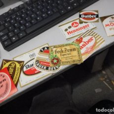 Coleccionismo de cervezas: COLECCION ETIQUETA CERVEZA NUEVAS NO USADAS NO VISIONADAS NUNCA. Lote 105205599